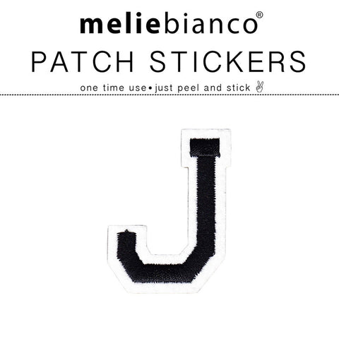J Varsity Letter Sticker Patch - Melie Bianco