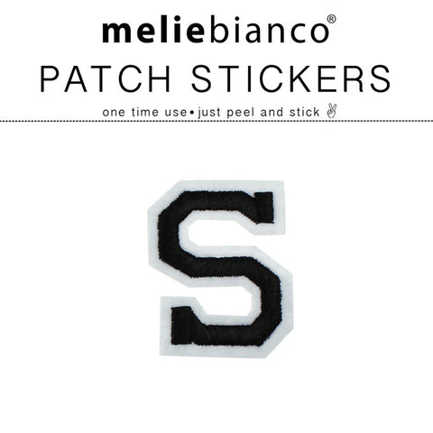 S Varsity Letter Sticker Patch - Melie Bianco