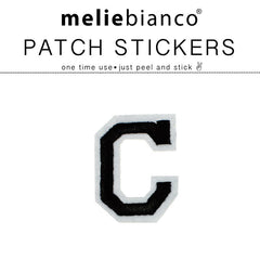 C Varsity Letter Sticker Patch - Melie Bianco