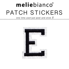 E Varsity Letter Sticker Patch - Melie Bianco