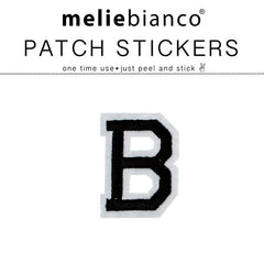 B Varsity Letter Sticker Patch - Melie Bianco