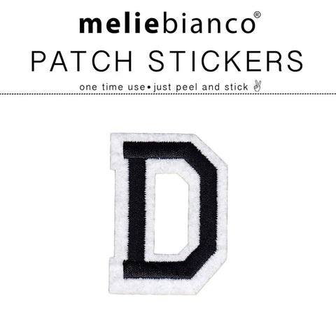 D Varsity Letter Sticker Patch - Melie Bianco
