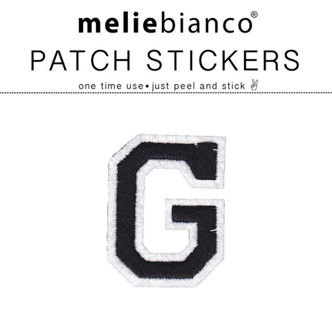 G Varsity Letter Sticker Patch - Melie Bianco