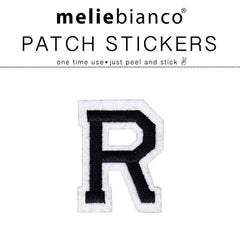 R Varsity Letter Sticker Patch - Melie Bianco