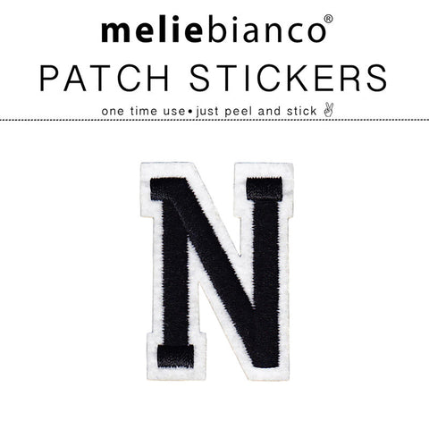 N Varsity Letter Sticker Patch - Melie Bianco