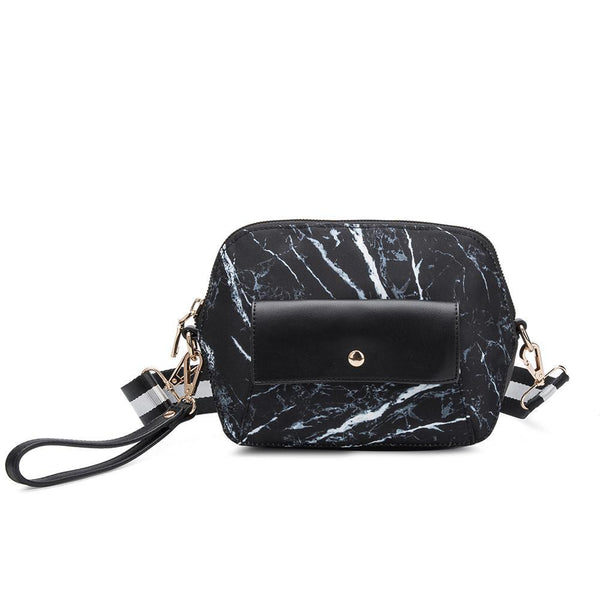 Saffi Marble Travel Crossbody