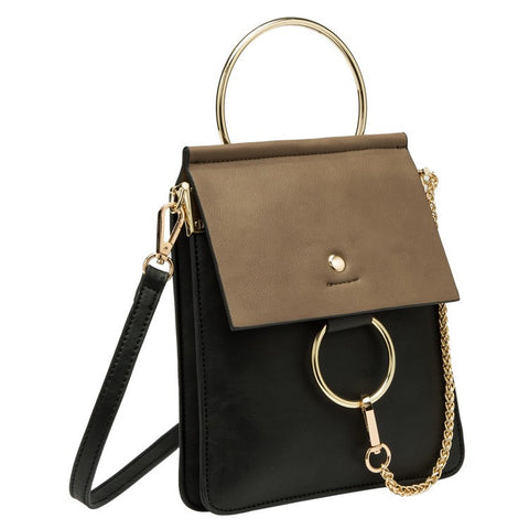 Gigi Top Ring Crossbody - Melie Bianco Handbags Accessories
