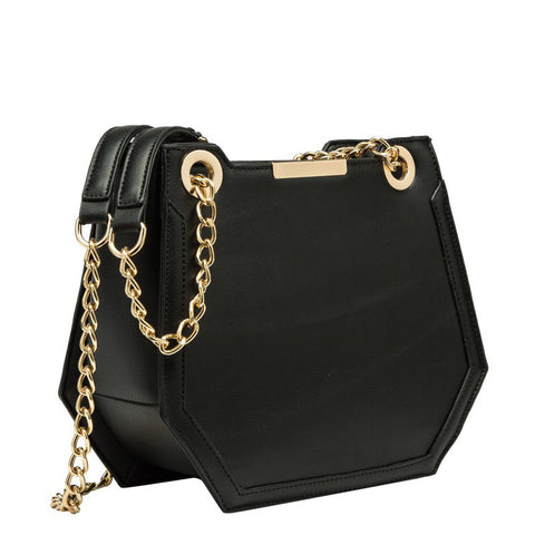 Reed Geometric Shoulder Bag - Melie Bianco - 1