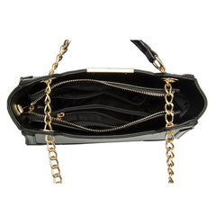 Reed Geometric Shoulder Bag - Melie Bianco - 7