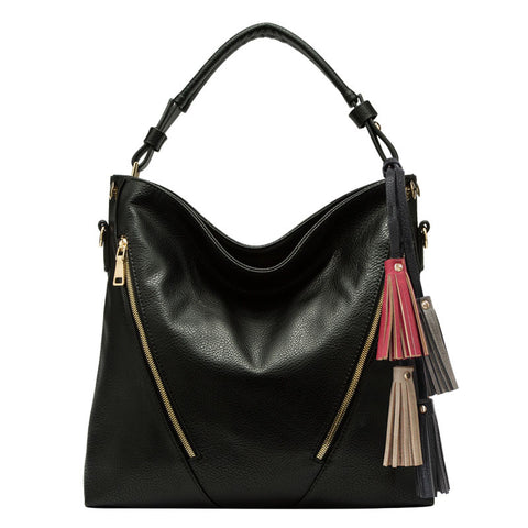 Knox Large Tassel Hobo