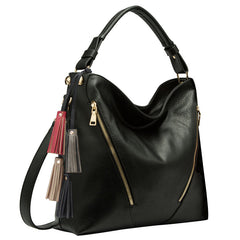 Knox Large Tassel Hobo - Melie Bianco Handbags Accessories
