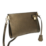 Misha Distressed Metallic Clutch - Melie Bianco - 3