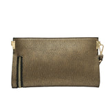 Misha Distressed Metallic Clutch - Melie Bianco - 8