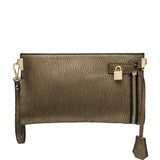 Misha Distressed Metallic Clutch - Melie Bianco - 7