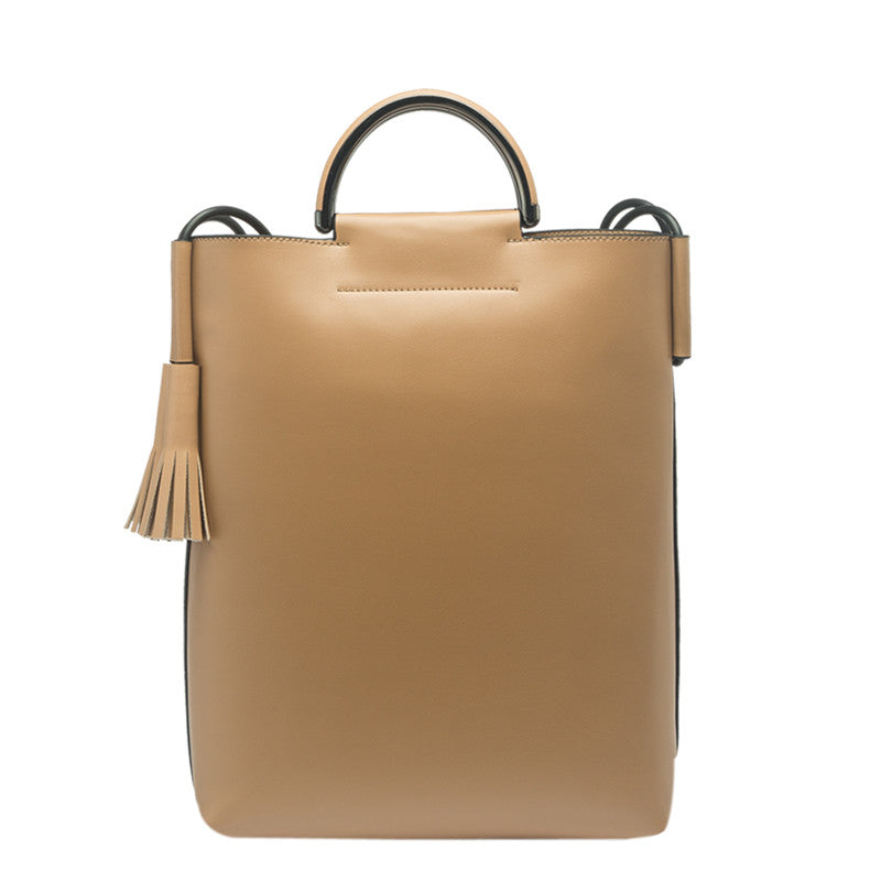 Alaia Large Top Handle Tote - Melie Bianco - 3