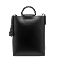 Alaia Large Top Handle Tote - Melie Bianco - 12