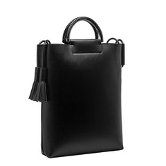 Alaia Large Top Handle Tote - Melie Bianco - 10