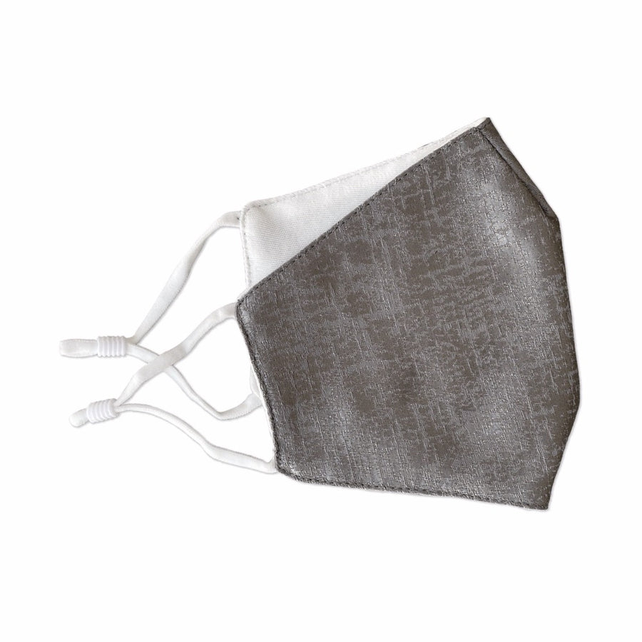 Face Mask Jacquard Pewter - FINAL SALE