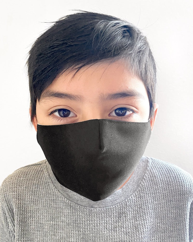 Face Mask KIDS Black - FINAL SALE