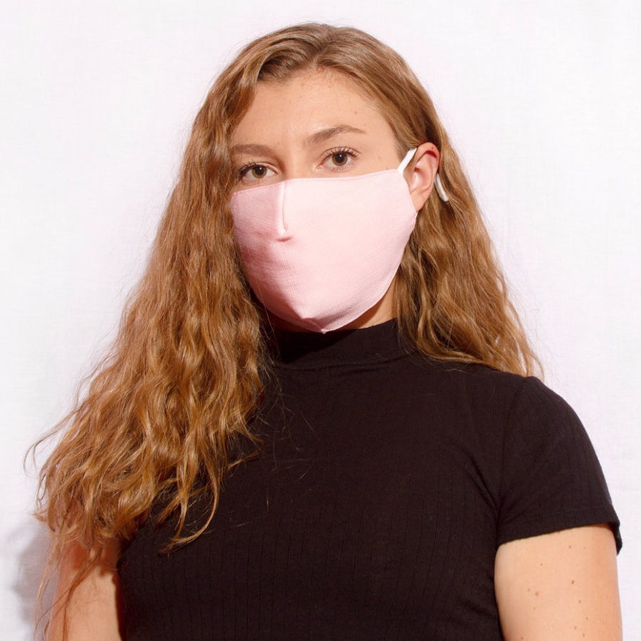 Face Mask Solid Pink - FINAL SALE