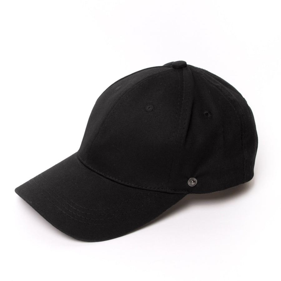 Black Baseball Cap Face Shield - FINAL SALE