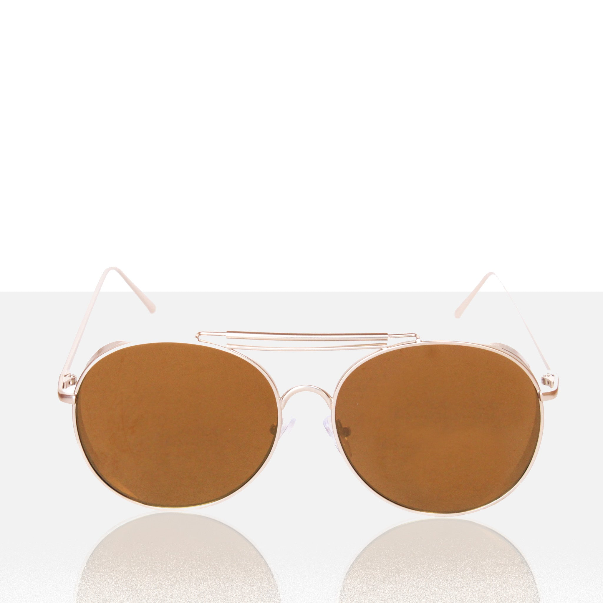 Miami Round Aviator Sunglasses - Melie Bianco Handbags Accessories
