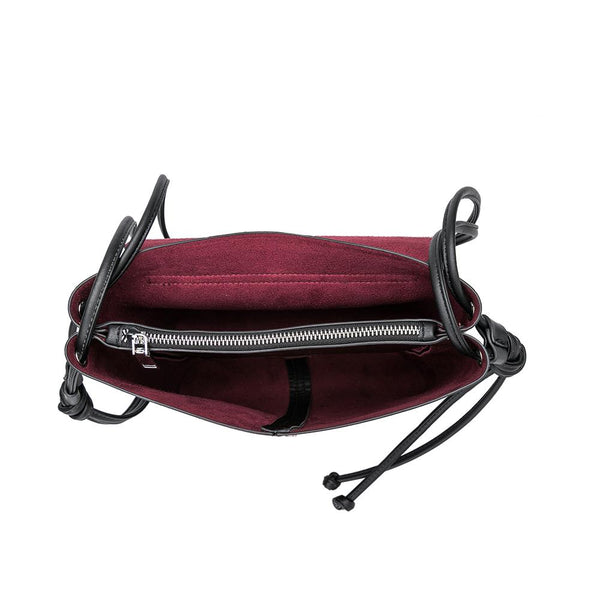 Dillen Burgundy Crossbody