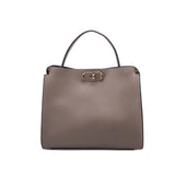 Thea Taupe Shoulder Bags