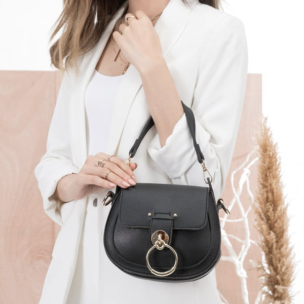 Ariel Black Crossbody