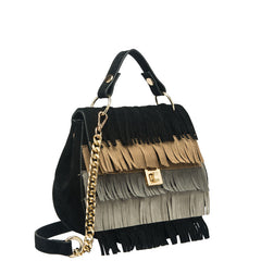 Meadow Multiple Colored Fringe Crossbody - Melie Bianco - 3