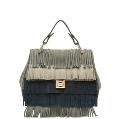 Meadow Multiple Colored Fringe Crossbody - Melie Bianco - 6