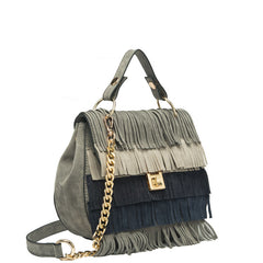 Meadow Multiple Colored Fringe Crossbody - Melie Bianco Handbags Accessories