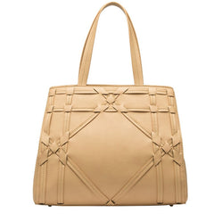 Valentina Cross Stitch Large Tote - Melie Bianco Handbags Accessories
