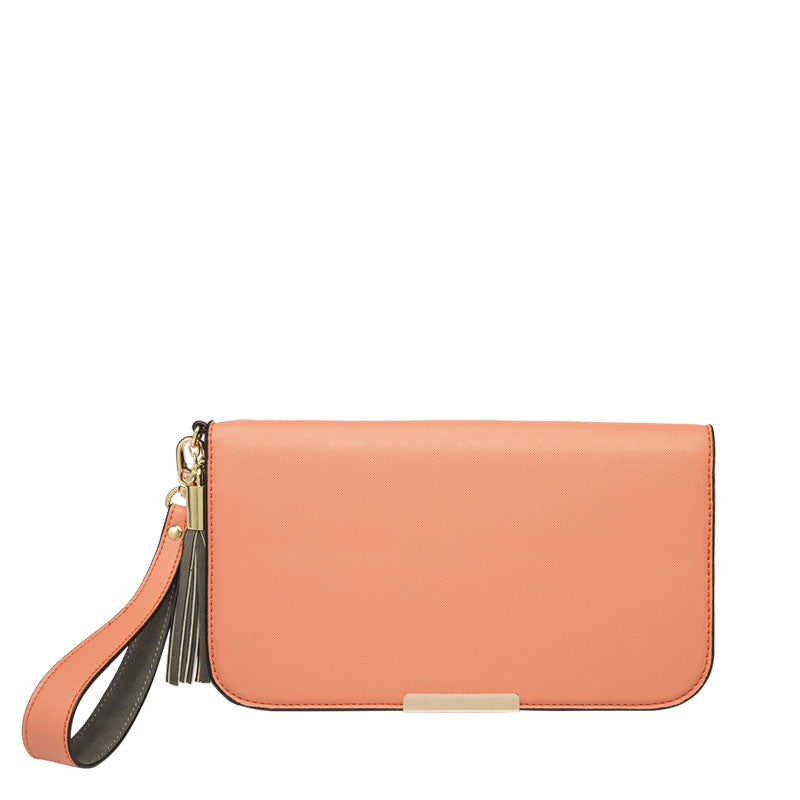 May Colorblock Wristlet - Melie Bianco Handbags Accessories