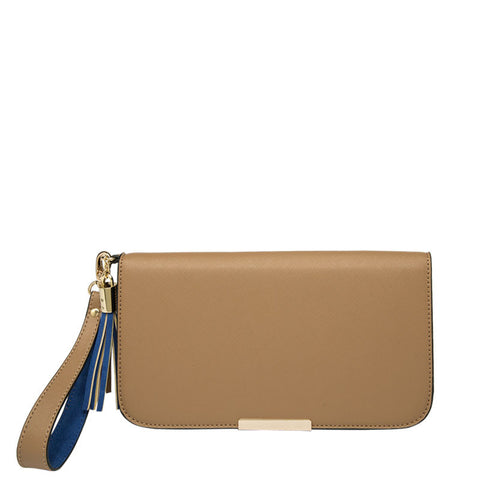 May Colorblock Wristlet