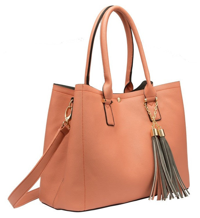 June Colorblock Large Tote - Melie Bianco - 5