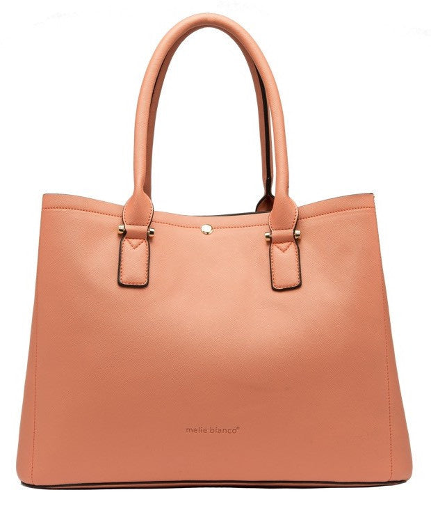June Colorblock Large Tote - Melie Bianco - 7