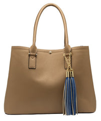 June Colorblock Large Tote - Melie Bianco - 2