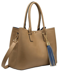 June Colorblock Large Tote - Melie Bianco - 1