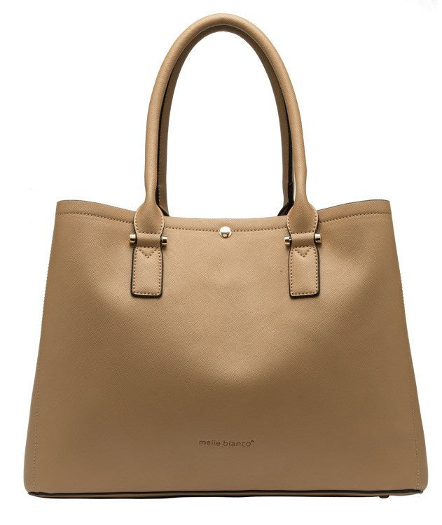 June Colorblock Large Tote - Melie Bianco - 3