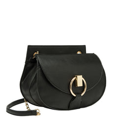 Giselle Metal Hoop Crossbody - Melie Bianco Handbags Accessories