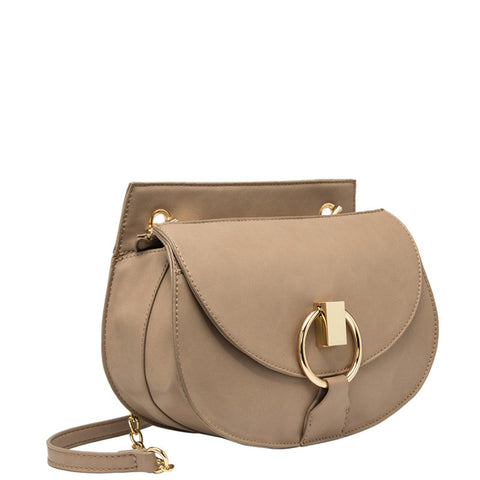 Giselle Metal Hoop Crossbody