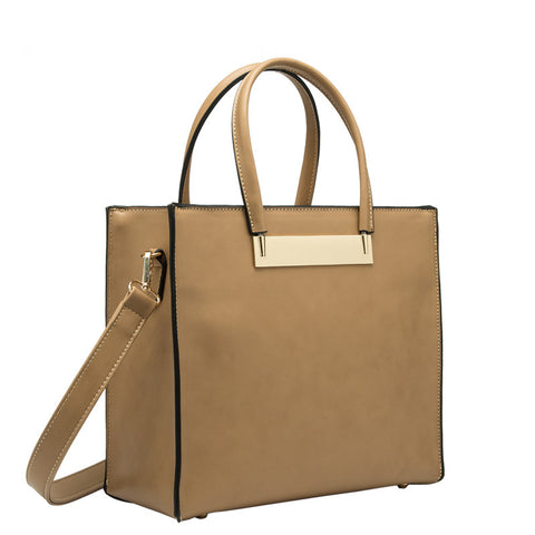 Halle Medium City Tote - Melie Bianco - 2