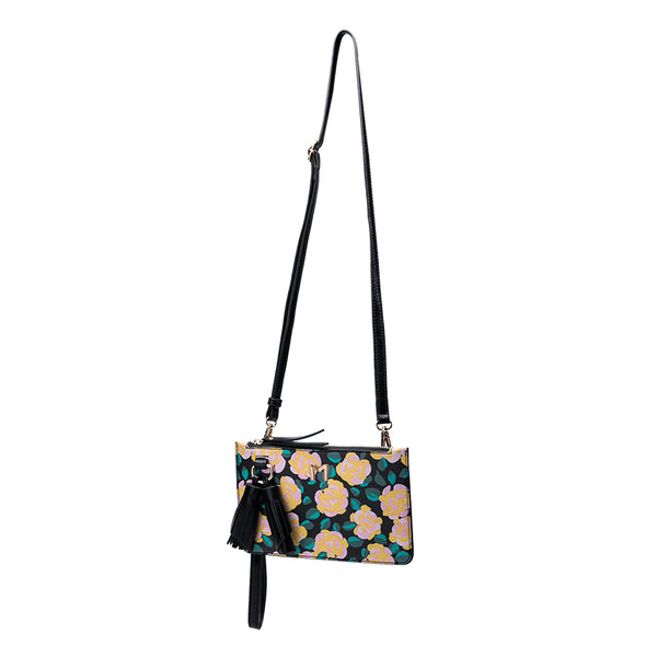 Farah Flower Mini Crossbody