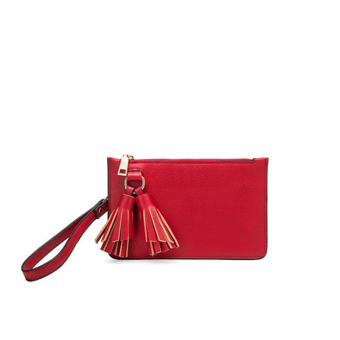 Farah Red Mini Crossbody