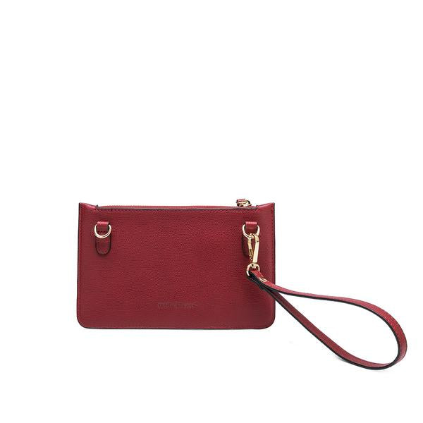 Farah Wine Mini Crossbody