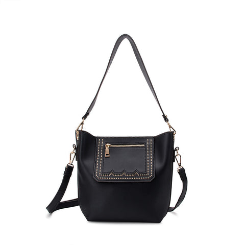 Adelise Studded Shoulder Bag