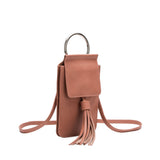 Dory Blush Tassel Crossbody