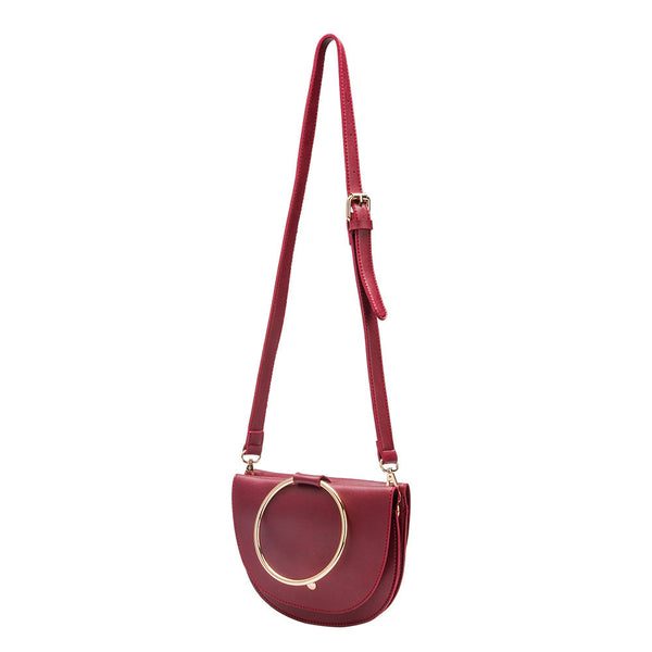 Felix Ring Burgundy Crossbody