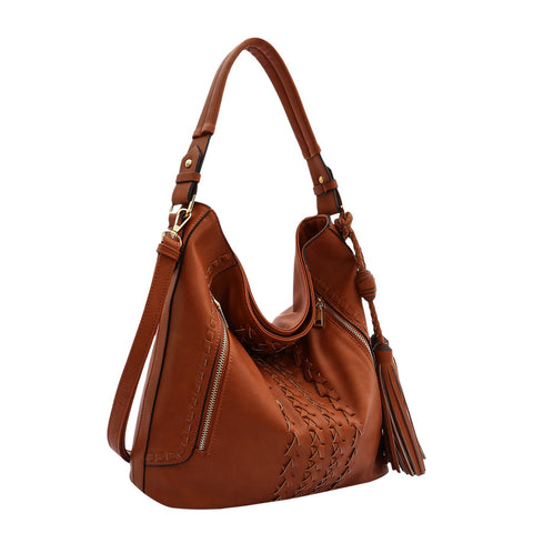 Brooke Large Shoulder Bag - Melie Bianco - 1
